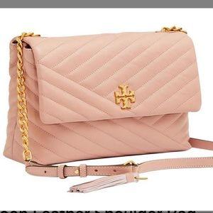 Tory Burch Kira Shoulder Bag in Moon Pink